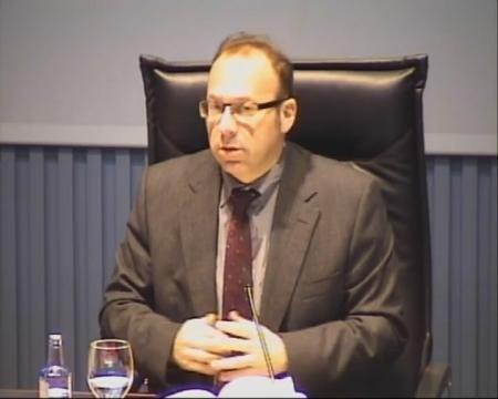 Antonio Roma Valdés, fiscal do Tribunal Superior de Xustiza de Galicia. - Xornada sobre a Protección da Legalidade Urbanística